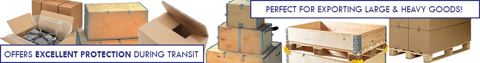 shipping boxes banner