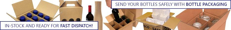 bottle packaging banner