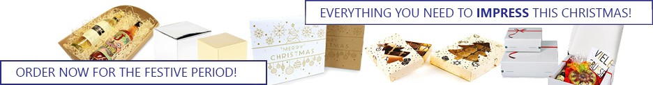 christmas packaging banner