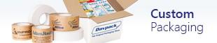 custom packaging banner